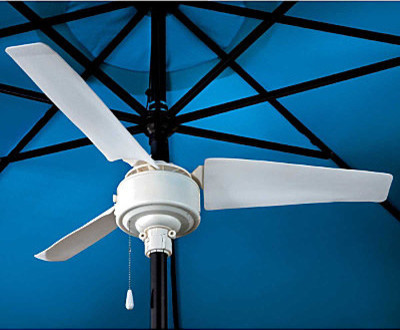 Umbrella Fan - Contemporary - Ceiling Fans - by Improvements Catalog