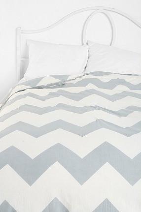 Zigzag Duvet Cover modern-duvet-covers-and-duvet-sets