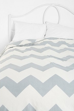 Zigzag Duvet Cover Modern Duvet Covers And Duvet Sets