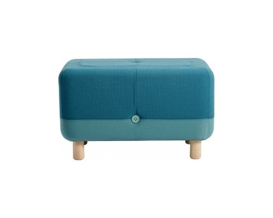 Sumo Pouf, Turquoise -