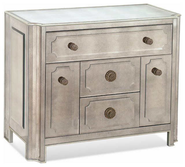 Regency Chairside Chest traditional-dressers