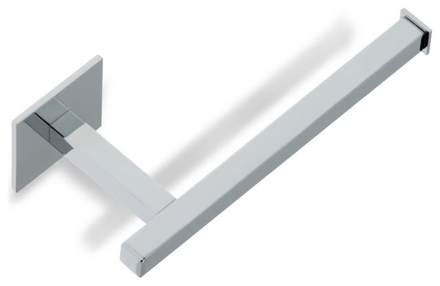 Modern Toilet Paper Holder Polished Chrome Contemporary
