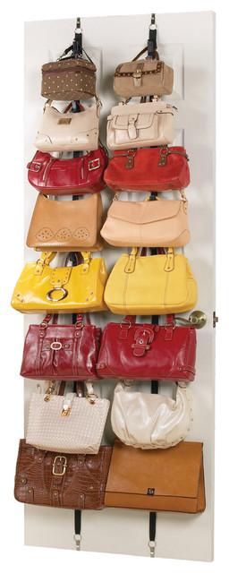 Handbag Purse Storage Rack contemporary-closet-storage