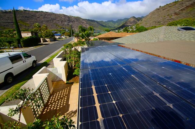 EcoShade Solar Roof tropical