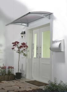 Aquila 1500 Door Awning, Grey contemporary-greenhouses