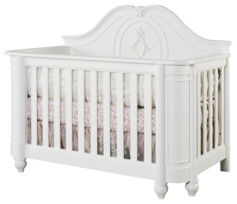 Creations Baby Angelina 4 in 1 Convertible Crib traditional-cribs