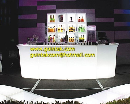 LED Hotel Bar Counter With Color Change Led -