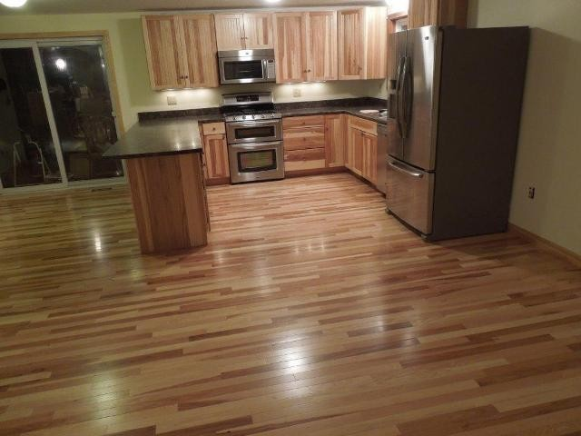 Kitchen Cabinets amp Hardwood Floors