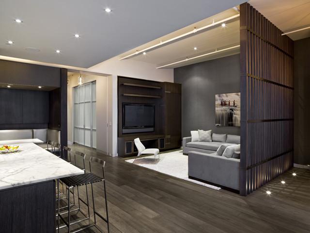Industrial Living Room industrial-living-room