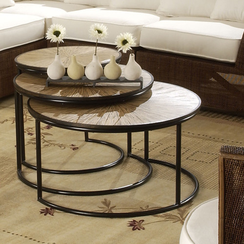 Habitat Loma Coffee Table Set Of 3 Modern Coffee