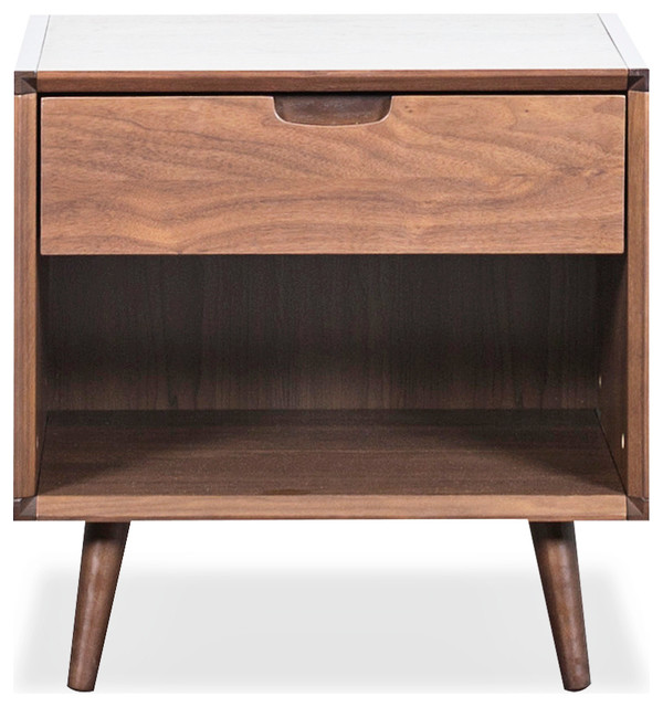 Juneau Bedroom Collection, Scandinavian Designs midcentury-nightstands-and-bedside-tables