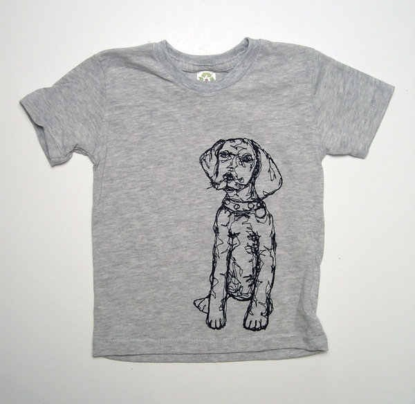 KLT works Dog Tee - Eco-Oat modern-baby-and-kids