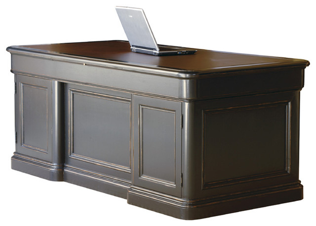 Home office executive desk modern desks and hutches for Man cave desk