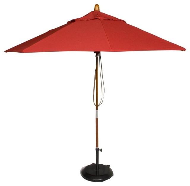 market patio umbrella in jockey contemporary