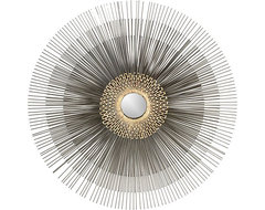 Starburst Mirror in Mirrors | Crate and Barrel