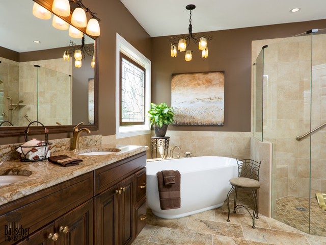 Classic bathrooms traditional cincinnati by bauscher construction remodeling inc - Classic bathroom designs small bathrooms ...
