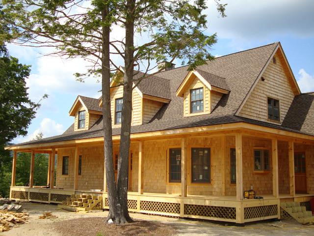 Big Twig Homes Llc Hybrid Timber Frame Farmhouse