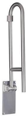 Moen R8960FD 30 in. Flip Up Grab Bar modern-bathroom-faucets-and-showerheads
