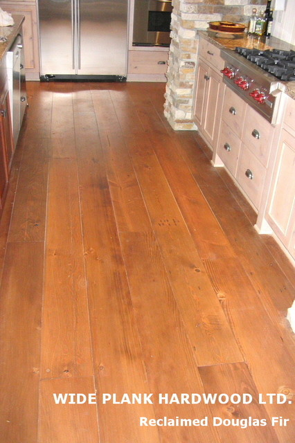 RECLAIMED DOUGLAS FIR - Modern - Hardwood Flooring - vancouver - by Wide Plank Hardwood Inc.