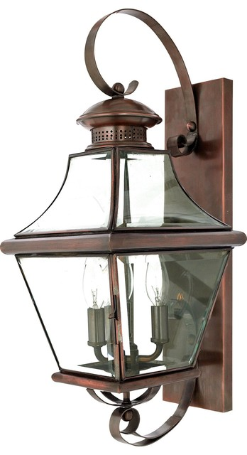 Quoizel CAR8729AC Carleton Traditional Outdoor Wall Sconce traditional-outdoor-lighting