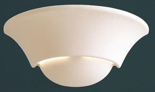 Paintable Ceramic Wall Light contemporary-wall-lighting