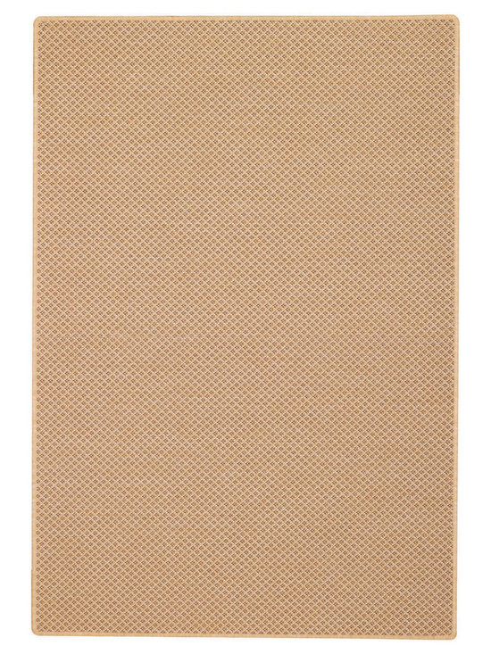 Weatherwise rug in Cocoa - Capel Anywhere™ indoor/outdoor collection with outstanding features in both ribbed and checked designs.