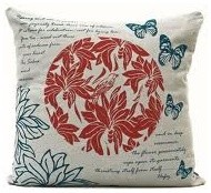 Hand Printed Cushion Covers modern-decorative-pillows