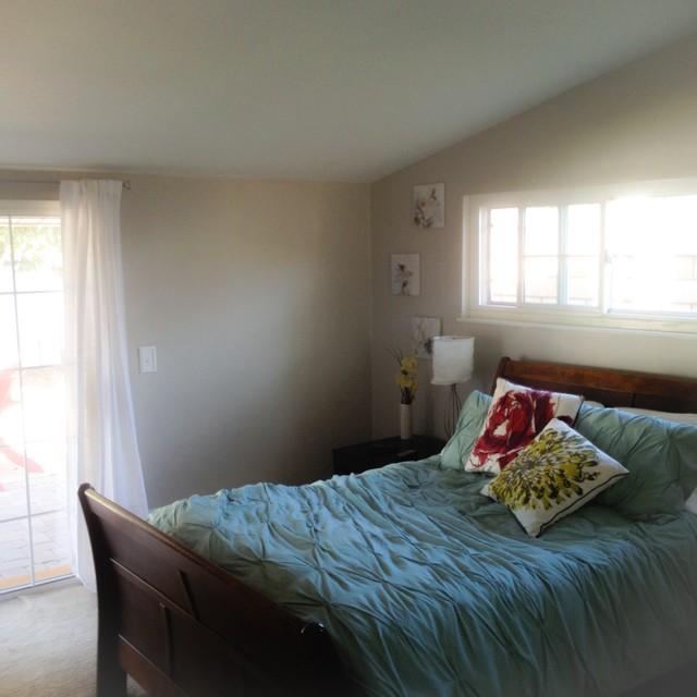 updated bedroom paint benjamin moore revere pewter