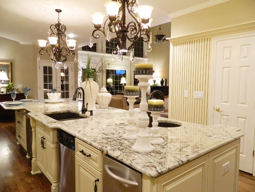 Pics Countertops In White Kitchen