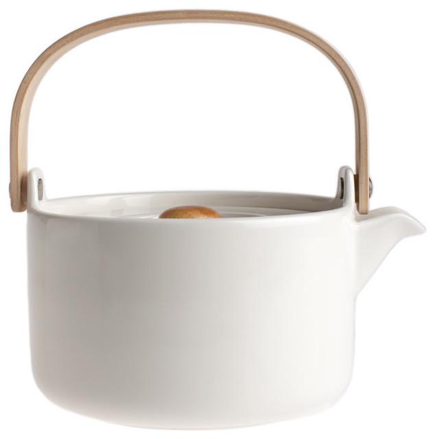Oiva Teapot by Marimekko contemporary-teapots