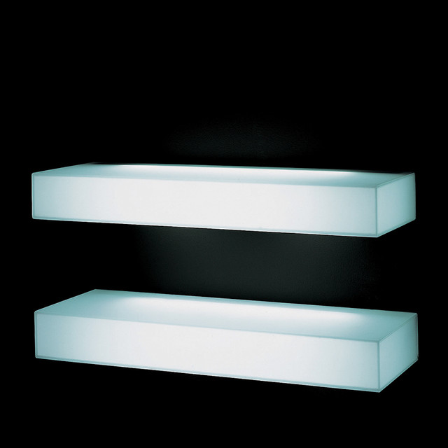 Glas Italia Light-Light Wall Shelf - Modern - Display And Wall Shelves - by Switch Modern