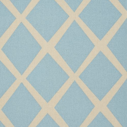 Turquoise/Putty Diamond Fabric traditional upholstery fabric
