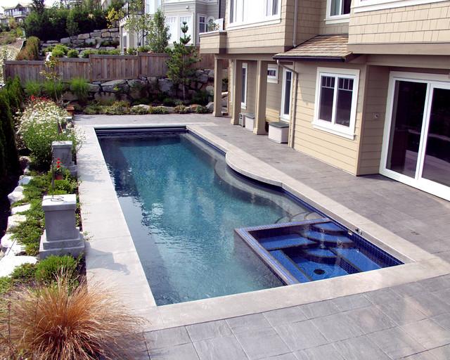 Rectangular Pool traditional-pool
