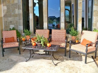 office custom outdoor seating cushions modern patio dallas