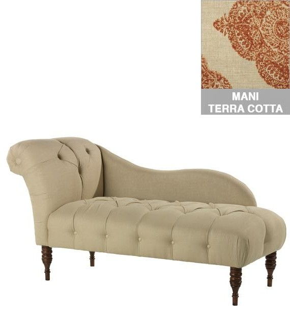 Custom Chaucer Upholstered Lounge traditional