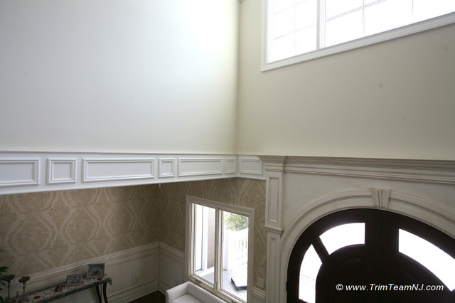 Wainscot and Picture Frames traditional