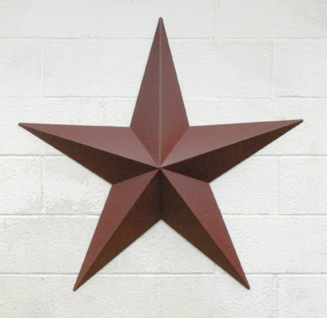 Amish 25 inch large barn star traditional outdoor for Barn star decorations home