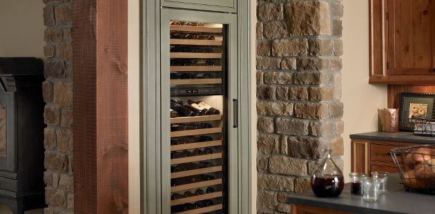 Sub-Zero Wine Refrigerator 424 - Display And Wall Shelves - by Sub-Zero and Wolf