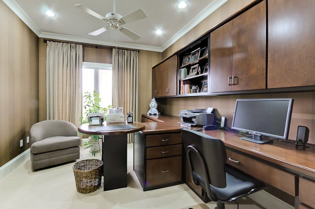 East End III contemporary-home-office