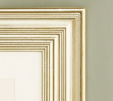 "PB Gilt Picture Frame, 8 x 10"" Wide Frame, Champagne Gilt finish traditional-frames"