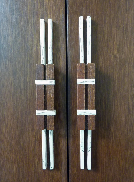 Cabinet Handles - Eclectic - Cabinet And Drawer Handle Pulls - seattle - by Laura Kraft - Architect