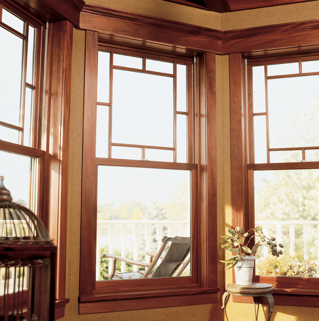 Ultimate double hung window contemporary windows for Window treatments for double hung windows