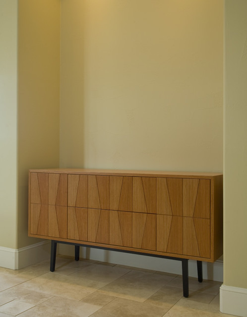 Custom Designed Furniture -- Maple Buffet contemporary-buffets-and-sideboards