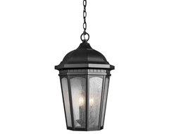 Kichler Lighting 9539BKT Courtyard Black Outdoor Hanging Lantern traditional-outdoor-lighting