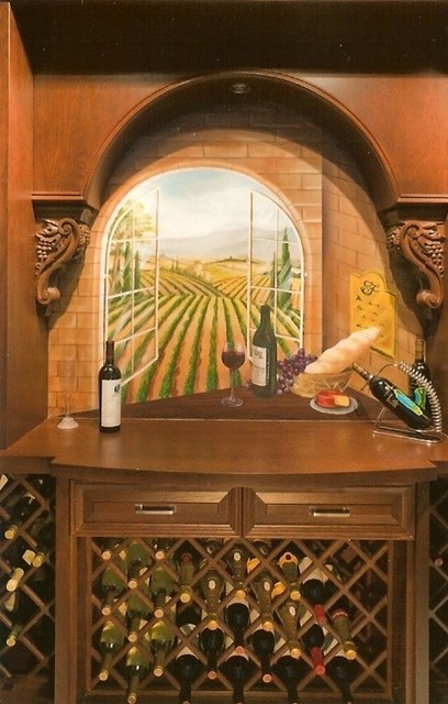 Private Residence 4, Boca Raton, FL traditional-wine-cellar