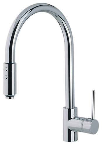 Rohl Modern Architectural Pulldown Single Handle Kitchen