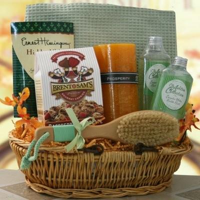Just Heavenly Gift Basket modern-baskets