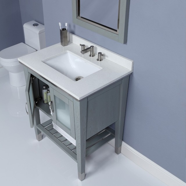 Small bathroom vanities traditional los angeles by vanities for bathrooms - Bathroom cabinets for small spaces plan ...