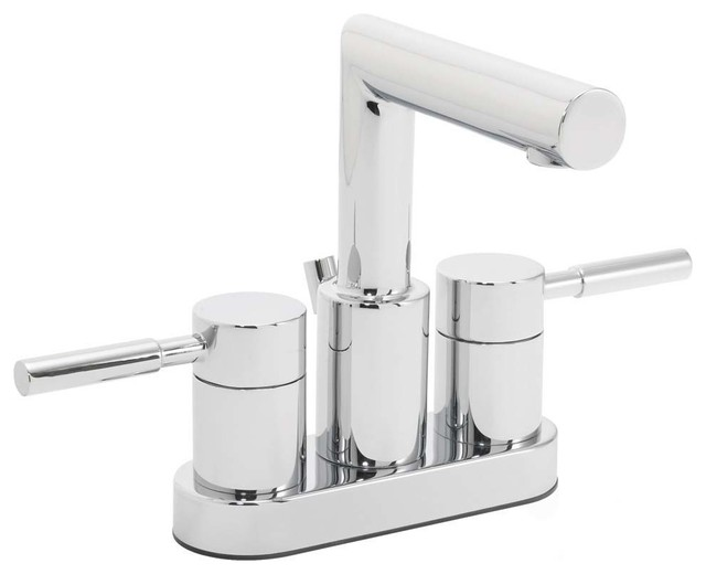 Bathroom Faucets 4 Inch Centerset : ... Inch Centerset Faucet, Polished Chrome modern-bathroom-faucets-and
