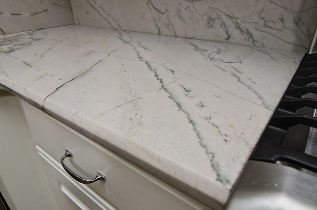 White Macaubas Quartzite in NW DC - Contemporary - dc metro - by ...